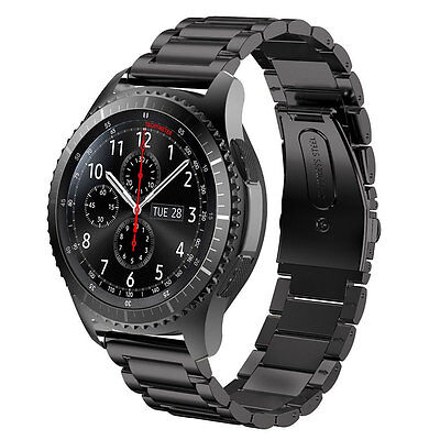 Stainless Steel Metal Watch Band Strap For Samsung Gear S3 Frontier S3 Classic