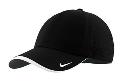 Nike 429467 Golf Dri-Fit Cap Hat Perforated Swoosh 6 Panel Non Structured Poly.