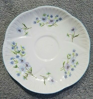 Shelly England Blue Rock fine boone China plate (tbl2)