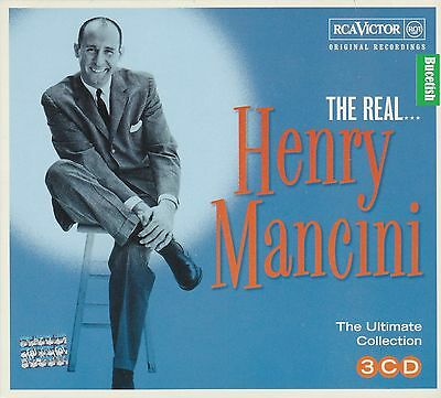 Henry Mancini The Real The Ultimate Collection 3CD Original Recordings CAJA DE C