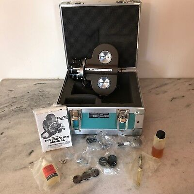 BELL & HOWELL FILMO 70DR 16mm FILM CAMERA + LEGENDARY ARMY OUTFIT FROM HOLLYWOOD