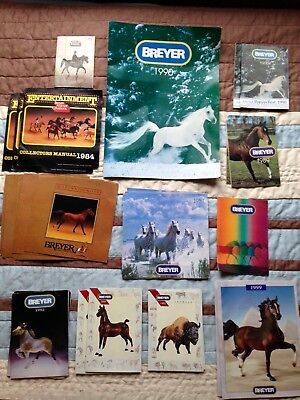 Vintage Breyer catalogs, and Just About Horses