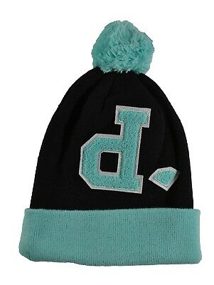 Diamond Supply Co. UN-POLO POM Black Diamond Blue One Size Cap Knit Beanie 9f89aac4b1d6