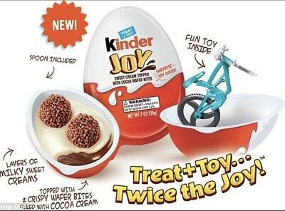 Ferrero KINDER Joy Surprise Chocolate Egg with Toy ! X10