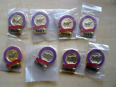8 Annual Loyal Order of Moose Legion 1996-2003 Stick-em Up NIP