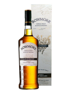 Bowmore Gold Reef Single Malt Scotch Whisky 1 Litre(Boxed)