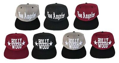 ca871b6cf8c Hollywood Star Walk of Fame 3D EMBROIDERED FLAT BILL SNAPBACK BASEBALL HAT  CAP
