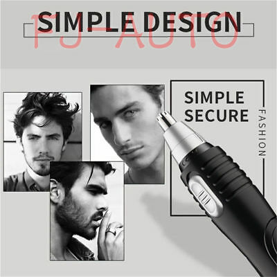 NEW 2 in 1 Electric Nose & Ear Hair Trimmer For Men And Women