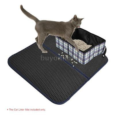 Cat Litter Mat Trapper Catcher Double-Layer Honeycomb Scatter Control Mats O5M2