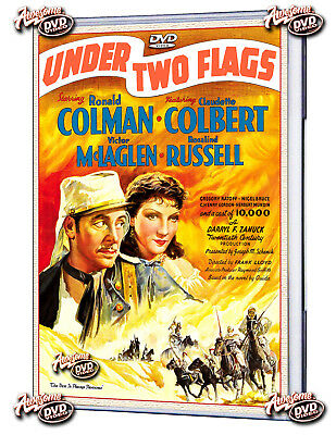 UNDER TWO FLAGS 1936(DVD) Ronald Colman, Claudette Colbert-Free Shipping