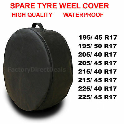 "R17""  Spare Tyre Cover Wheel Protective Tyre Bag For Any Car  225/50R17"