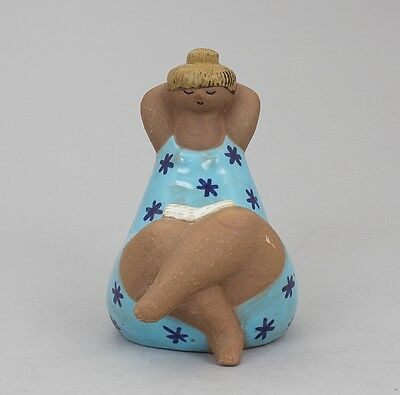 "RARE LISA LARSON FOR GUSTAVSBERG ""EMMA"" from ' ABC girls ' ART POTTERY SWEDEN"