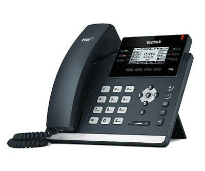 Yealink SIP-T41P: 6 Line HD IP Phone w/ PoE & PS - VoIP