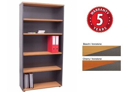 Rapid Worker Bookcase w/ Adjustable shelves 3 Sizes 2 Colours PU