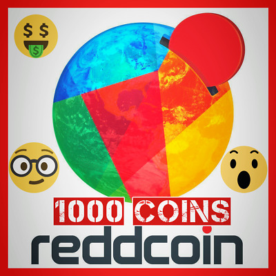 1000 Reddcoin RDD coins virtual crypto currency xrp ada ACT Fast - Usa Seller