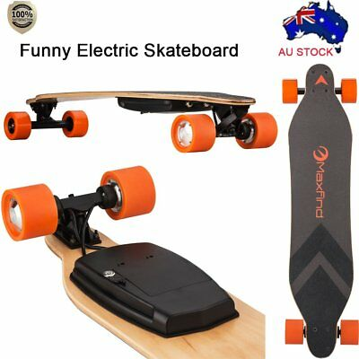 AU 8-Ply Maple  Electric Longboard Wireless Remote Skateboard Sporting N5060