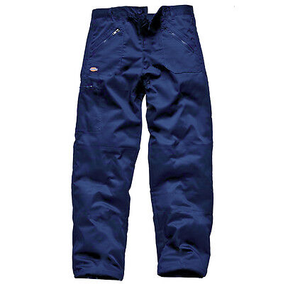 Dickies Wd814 Redhawk Action Work Trousers Navy - Size 34R