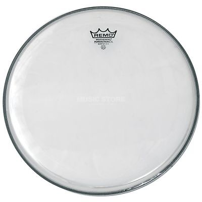 """Remo Remo - Powerstroke 4 Clear 16"""", Tom Batter"""