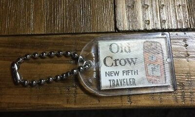 Vintage Old Crow Flicker Key Chain