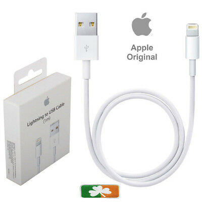 100% Genuine Apple Iphone 5 /6 /7 /8 / X /Xr / Xmax Lightning Usb Charger Cable