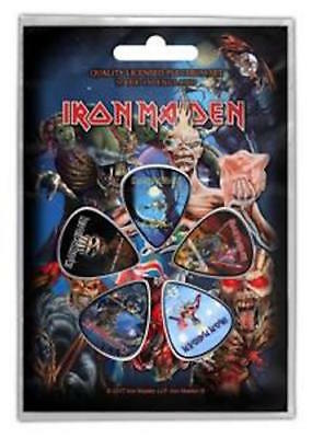 Iron Maiden - later albums - Plectrums / Picks - 5 pack NEW