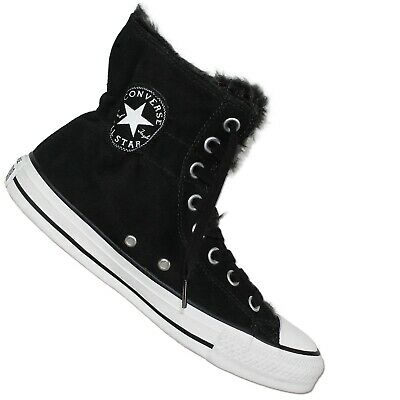 CONVERSE ALL STAR Chuck Taylor Ct Clr Scrunch Hi Schwarz