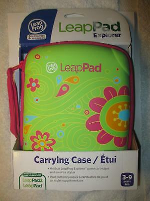 New Leap Frog Leap Pad Explorer Carrying Case Flower Design LeapPad & LeapPad 2
