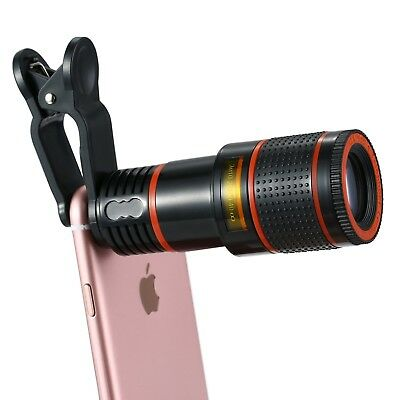QX9 HD 12X ZOOM PREMIUM TELEPHOTO LENS Universal High Universal Android IPhone