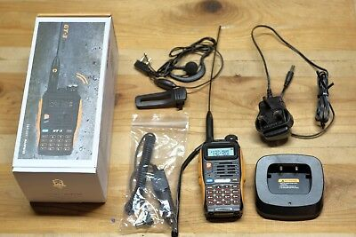 Baofeng GT-3 Mark II VHF UHF 136-174/400-520MHz 1/4/8W HT Radio Walkie Talkie