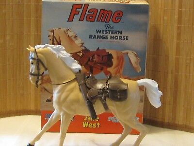 MARX BEST OF THE WEST ACTION FIGURE w/ ALL ACCESSORIES FLAME THE  HORSE IOB (s)