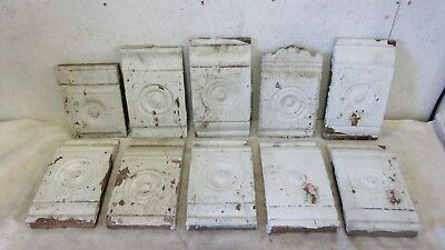 10 Assorted Wood Bullseye Victorian Salvaged Plinth Blocks Pinterest Project
