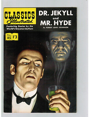 CLASSICS ILLUSTRATED COMIC No. 129 Dr Jekyll Mr Hyde - 1/3  HRN 129