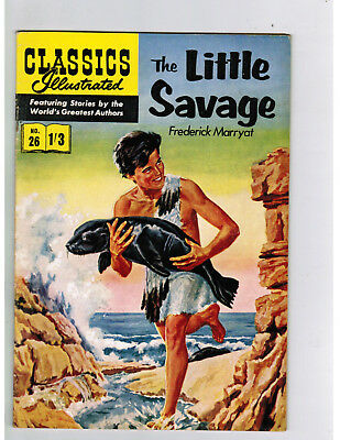 CLASSICS ILLUSTRATED COMIC No. 26 The Little Savage - 1/3  HRN 126