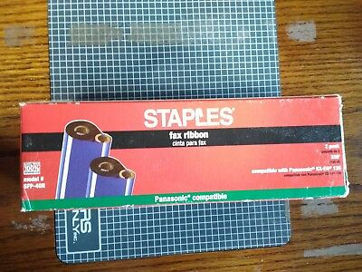 Staples Fax ribbon SFP-40R for Panasonic KX-FA 136 NIB  1 Ribbon (NEW) in this b