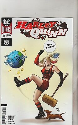 Dc Comics Harley Quinn #34 March 2018 Variant 1St Print Nm