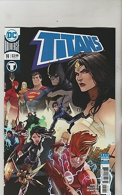 Dc Comics Titans #19 March 2018 Variant 1St Print Nm