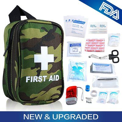 Outdoor First Aid Kit Compact Easy To Carry Medical Survival Emergency Camping