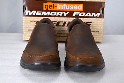 9075e2ee2d8 MEN S SKECHERS 64589 CDB Glides-Calculous Dark Brown -  37.79