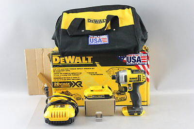 "DeWalt DCF899M1 Brushless 20V Max 1/2"" High Torque Impact Wrench Drill NEW_OB"