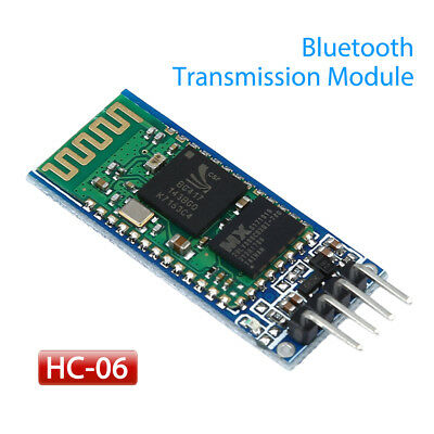 Bluetooth HC-06 Serial Port Transmission Module Lightweight Portable For Arduino