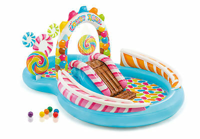 Intex Candy Zone Play Center Inflatable Kiddie Wading Pool