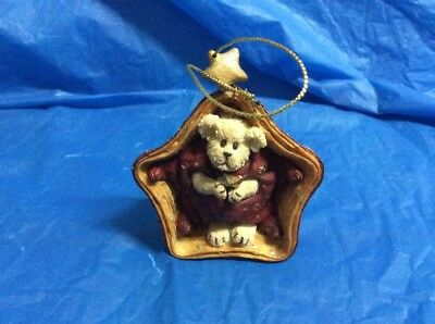"Boyds Longaberger Ornament ""Twinkles Starbeary"" #25777LB- Longaberger Exclusive"
