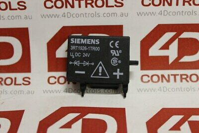 Siemens 3RT1926-1TR00 Diode Assembly without LED - New Surplus Open