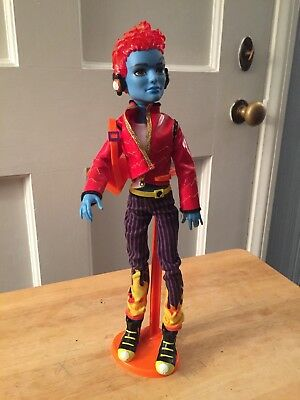 Monster High HOLT HYDE Fashion Doll Used Original 1st wave 2010 signature RARE