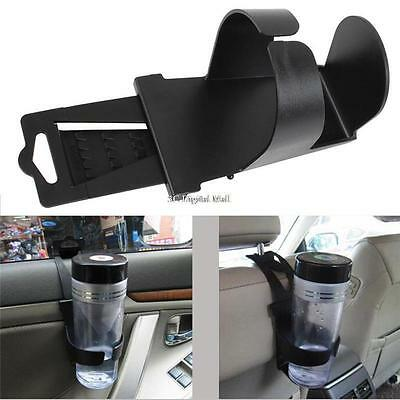 Black Universal Vehicle Car Truck Door Mount Drink Bottle Cup Holder Stand ~LY】