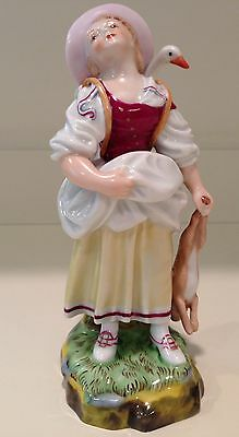 Hochst Figurine Peasant Girl Made in Germany New