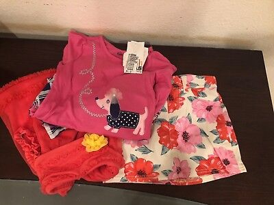 Lot Of 3 Girls Clothes Size 6 NWT