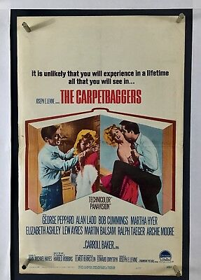Image result for the carpetbaggers movie poster
