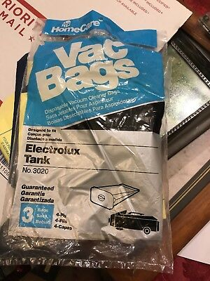 3020 Electrolux Tank Vac Bags Vacuum Cleaner Disposable Canister