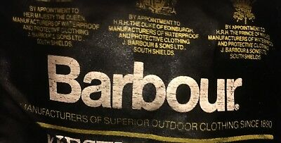 Barbour Transport Mens waxed cotton Jacket Rare Exc Cond
